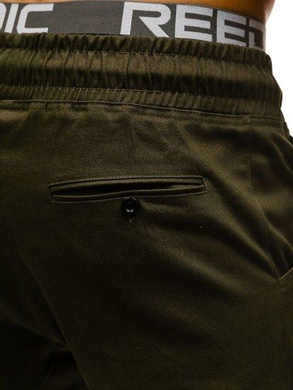Zelené pánske baggy nohavice BOLF 0399