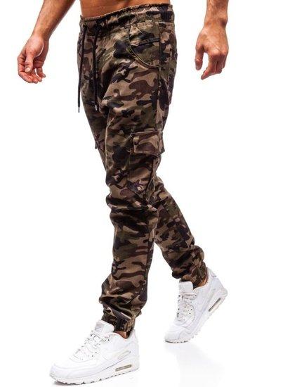 Zelené pánske jogger kapsáče BOLF 0404