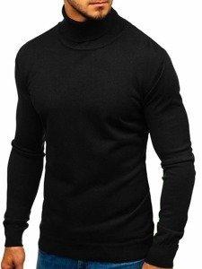 Čierny pánsky sveter / rolák BOLF 2400