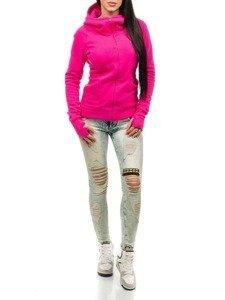Ružová dámska mikina BOLF 17S