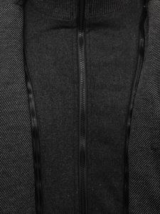 Šedý pánsky kabát Bolf 1909