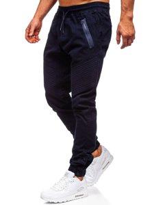 Tmavomodré pánske joggery Bolf 0952